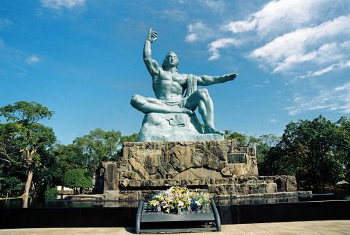 Bombing「Peace Statue, Nagasaki,Japan」:スマホ壁紙(15)