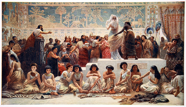 Long「The Babylonian Marriage Market' 1915」:写真・画像(10)[壁紙.com]