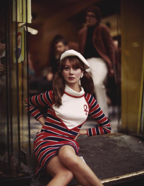 Mini Dress「Sixties Stripes」:写真・画像(13)[壁紙.com]