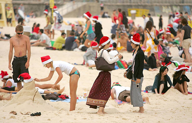 Christmas on Bondi Beach:ニュース(壁紙.com)
