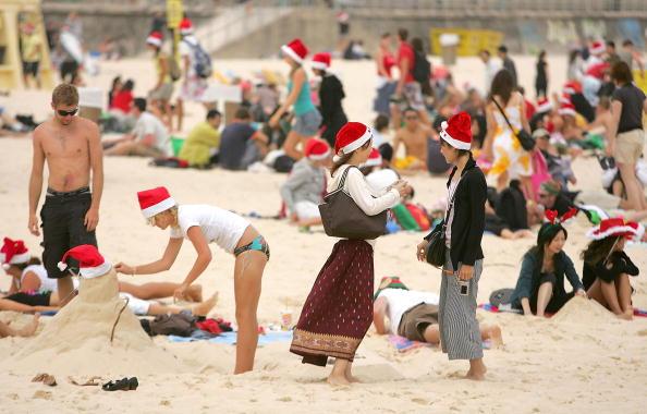 雪だるま「Christmas on Bondi Beach」:写真・画像(10)[壁紙.com]