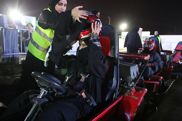 Nikab「Saudi Women Prepare To Drive As Ban Nears End」:写真・画像(12)[壁紙.com]