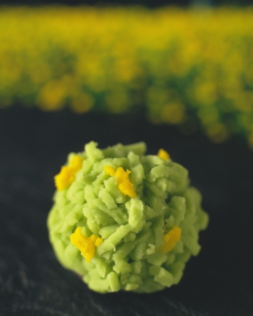 和菓子「Wagashi called Kinton, Japanese Sweet, Differential Focus」:スマホ壁紙(17)