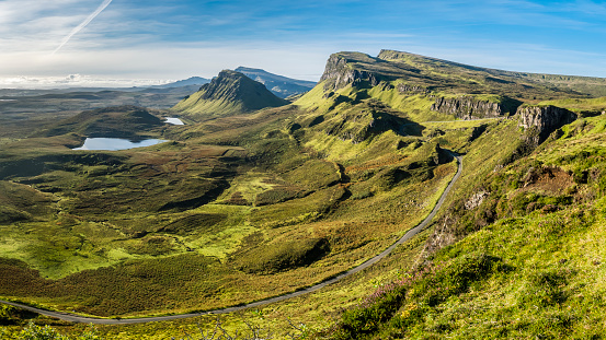 Quirang「Great Britain, Scotland, Isle of Skye, Mountain pass near Quiraing」:スマホ壁紙(15)