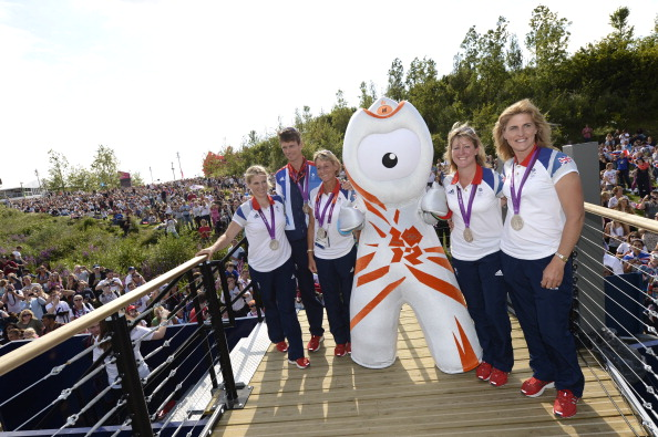 2012 Summer Olympics - London「Day 5: Team GB Member Visits Park Live presented by British Airways」:写真・画像(12)[壁紙.com]
