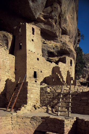 Cliff Dwelling「Cliff Palace in Mesa Verde National Park in Colorado」:スマホ壁紙(17)