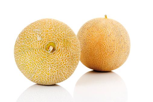 メロン「'Two melons, close-up'」:スマホ壁紙(13)
