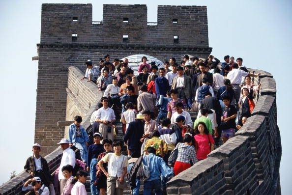 China Photos「Great Wall Tourists」:写真・画像(7)[壁紙.com]