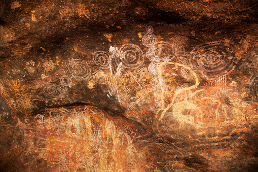 Indigenous Culture「Aboriginal Cave Drawings in Australia」:スマホ壁紙(14)
