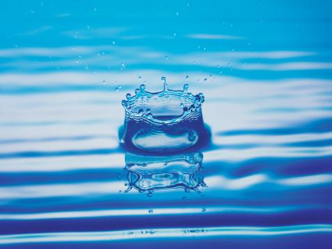 飽和色「Splash of Water」:スマホ壁紙(5)