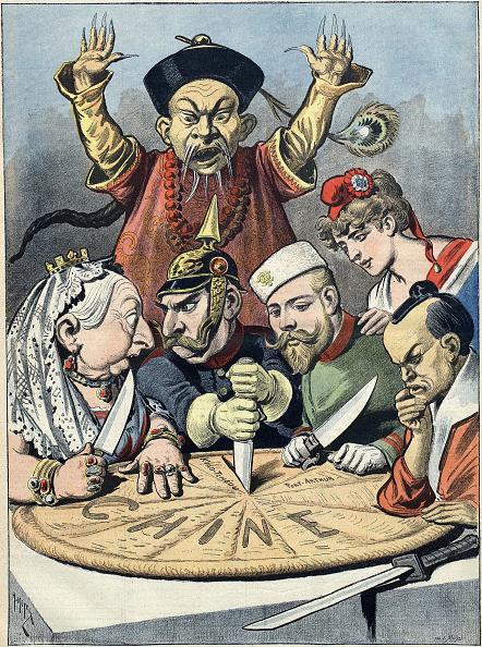 皇帝「China - the cake of kings and of emperors (Caricature), 1898」:写真・画像(9)[壁紙.com]