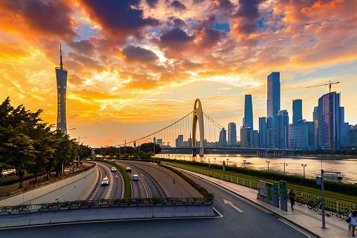 都市「Guangzhou city, guangdong province」:スマホ壁紙(3)