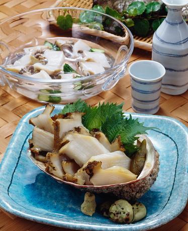 Sake「Steamed abalone dishes with sake」:スマホ壁紙(2)