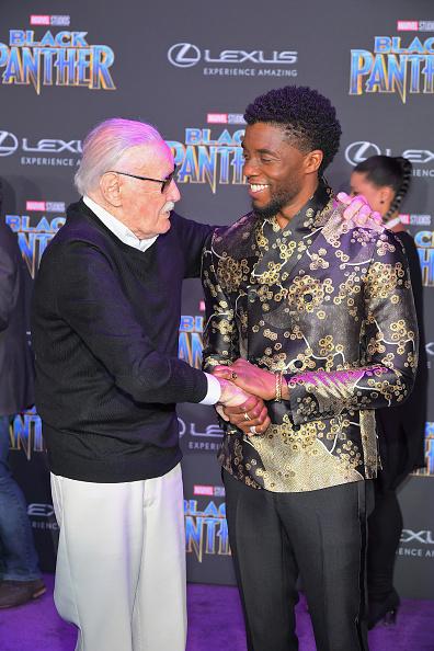 映画プレミア「World Premiere of Marvel Studios' Black Panther, presented by Lexus」:写真・画像(7)[壁紙.com]