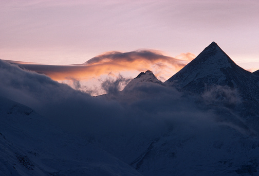 Central Eastern Alps「Austrian Alps at sunset」:スマホ壁紙(16)