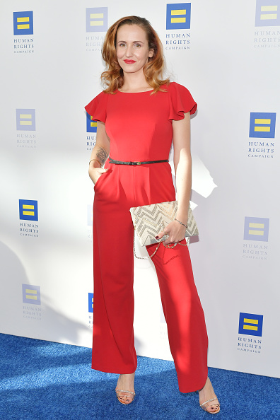Cap Sleeve「The Human Rights Campaign 2019 Los Angeles Dinner - Arrivals」:写真・画像(4)[壁紙.com]