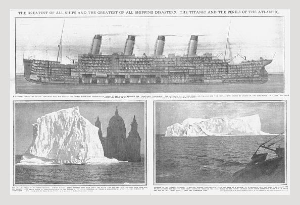 Cooking Utensil「Sectional Diagram Of The Titanic」:写真・画像(15)[壁紙.com]