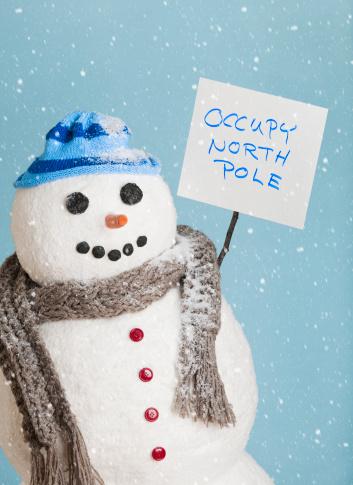 雪だるま「Studio Shot of snowman」:スマホ壁紙(3)