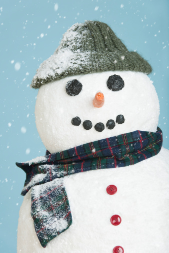雪だるま「Studio shot of snowman」:スマホ壁紙(14)
