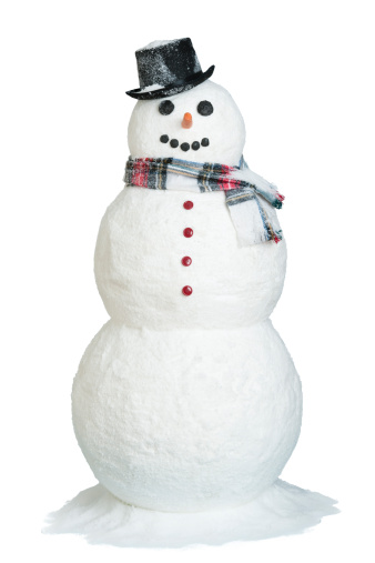 Snowman「Studio shot of snowman」:スマホ壁紙(2)