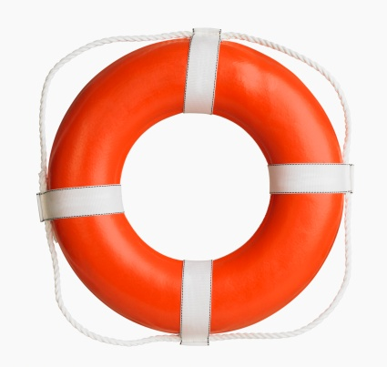 Rescue「Studio shot of boat life preserver」:スマホ壁紙(15)