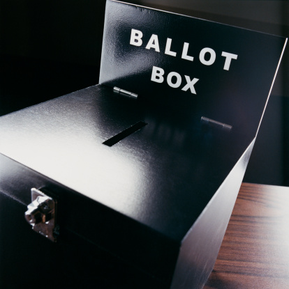 Politics「Studio Shot of a Ballot Box」:スマホ壁紙(18)