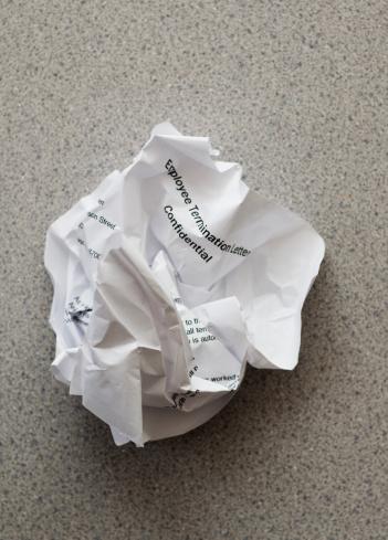 Crumpled「Studio shot of crumpled document」:スマホ壁紙(1)