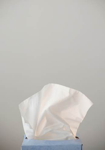 Infectious Disease「Studio shot of tissues」:スマホ壁紙(19)