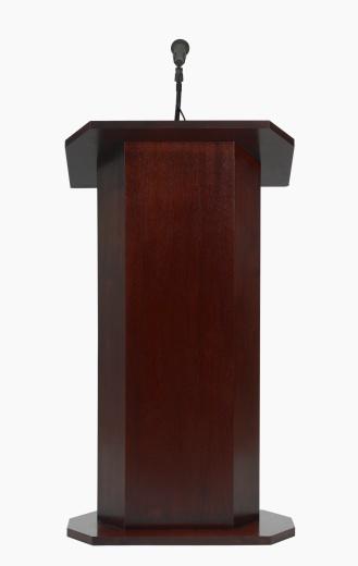 Speech「Studio shot of podium with microphone」:スマホ壁紙(3)