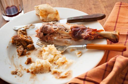 Mash - Food State「Studio shot of turkey leg with potatoes」:スマホ壁紙(1)