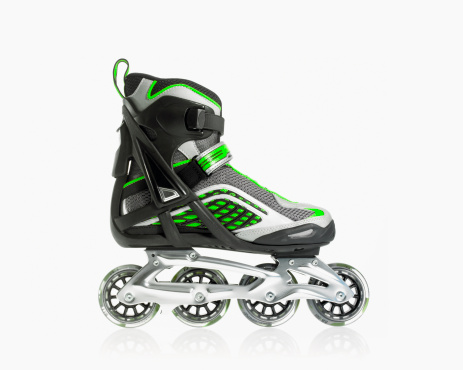 Roller skate「Studio shot of rollerblade shoe」:スマホ壁紙(6)