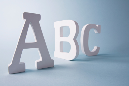Letter B「Studio shot of A,B,C letters」:スマホ壁紙(10)