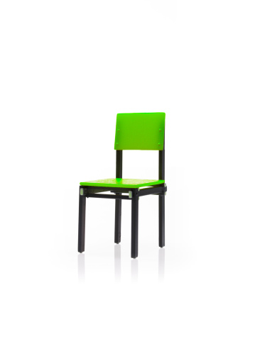 Back Of Chair「Studio shot of single green chair」:スマホ壁紙(14)