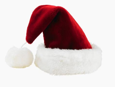 Headwear「Studio shot of Santa Claus hat」:スマホ壁紙(3)