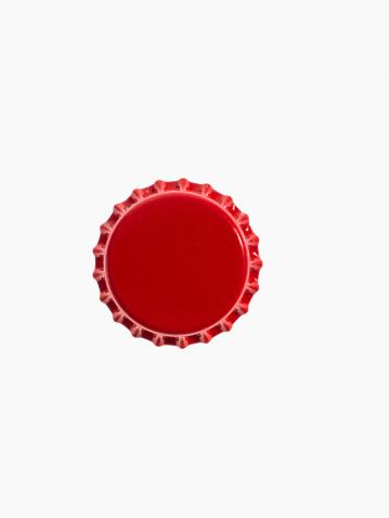 Bottle Cap「Studio shot of red bottle cap」:スマホ壁紙(8)