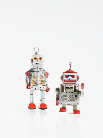 Two Objects「Studio shot of book robots」:スマホ壁紙(11)