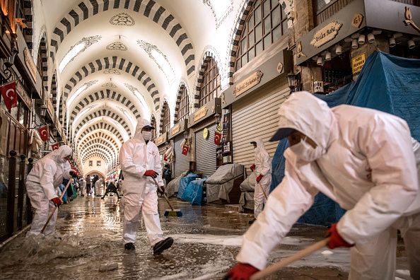 Middle East「Istanbul Reopens As Coronavirus Infections Continue To Decline」:写真・画像(4)[壁紙.com]