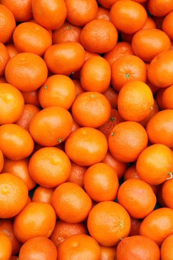 Tangerine「Fresh tangerines for sale」:スマホ壁紙(19)