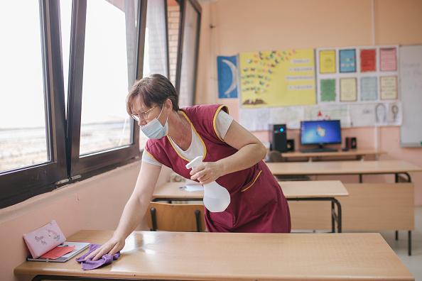 Vladimir Zivojinovic「Serbia's Schools Reopen」:写真・画像(7)[壁紙.com]