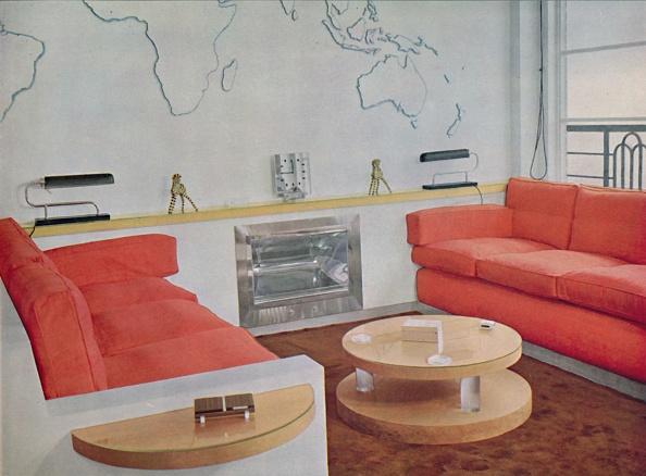 Orange Color「Study In Lord Louis Mountbattens London House 1」:写真・画像(2)[壁紙.com]