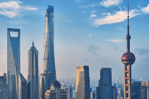 世界の風景(地域別)「上海の街並み」:スマホ壁紙(5)
