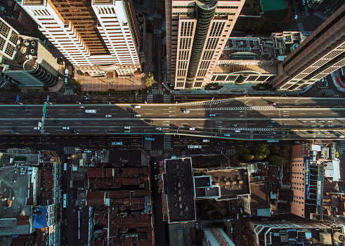 City Street「Shanghai cityscape」:スマホ壁紙(16)