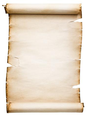 Manuscript「Blank Antique Scroll (Clipping Path; XXL)」:スマホ壁紙(6)
