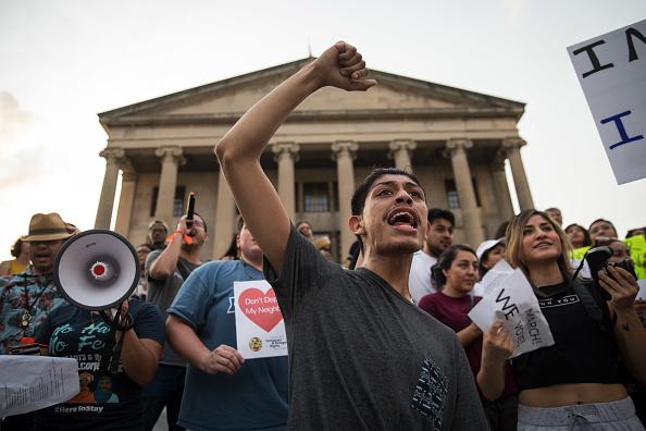 Nashville「Nashville Activists Protest New Tennessee Law Against Sanctuary Cities」:写真・画像(16)[壁紙.com]
