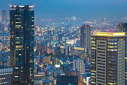 LypseJP2015「Buildings in Osaka」:スマホ壁紙(15)