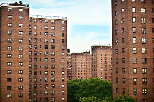 Brick Wall「Buildings in NY」:スマホ壁紙(5)