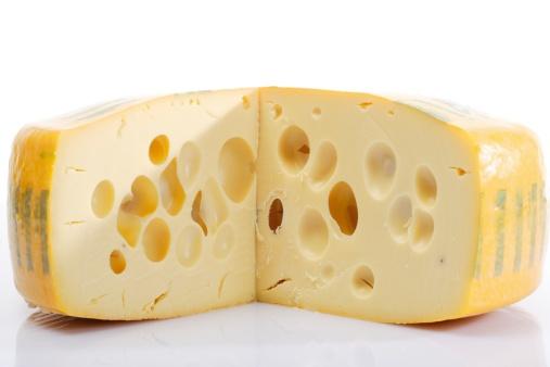 Emmental Cheese「Block of Swiss cheese, close-up」:スマホ壁紙(19)