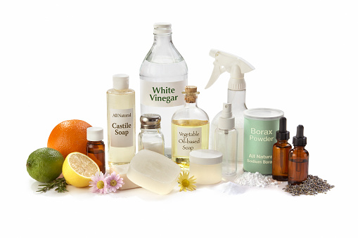 Aromatherapy Oil「All Natural Cleaning Ingredients for the Home」:スマホ壁紙(15)