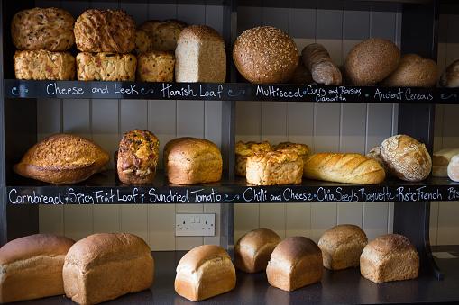 Bakery「Food at a bakery in Scotland, UK.」:スマホ壁紙(16)