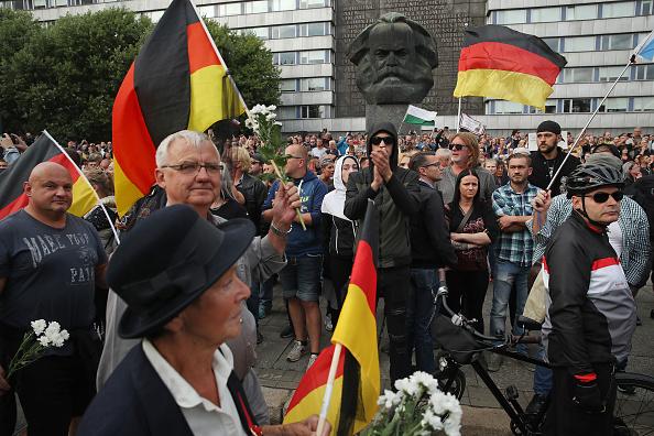 Sean Gallup「Murder Fuels Anti-Foreigner Tensions In Chemnitz」:写真・画像(13)[壁紙.com]